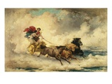 Apollo in the Chariot of the Sun Lámina giclée por Frederik Arthur Bridgman