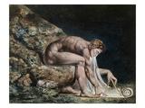 Newton Reproduction procédé giclée par William Blake