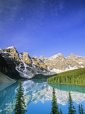 Moraine Lake, Banff National Park, Alberta, Canada Photographic Print by John E Marriott