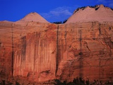 Streaked Wall and Beehives at Sunrise Photographic Print by Bill Ross