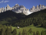 St. Giovanni Church in Val di Funes Photographic Print by Richard Klune