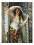 Safie, One of the Three Ladies of Bagdad Gicléetryck av William Clarke Wontner