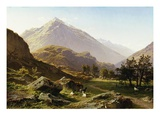 View of Kirchet Giclee Print by Francois Roffiaen