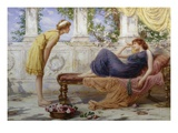 A Summer Afternoon Giclee Print by Henry Ryland