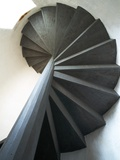 Spiral Staircase Inside Lighthouse Photographic Print by Layne Kennedy