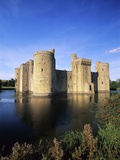 Bodiam Castle and Moat Reproduction photographique par Nik Wheeler