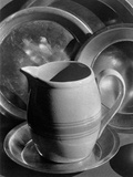 Pitcher and Plates