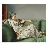 Portrait of Marie Adelaide of France Giclée-tryk af Jean-Etienne Liotard
