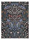 Blackthorn, Wallpaper Giclée-tryk af William Morris