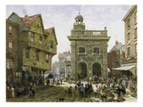 Ludlow Market Giclee Print by Louise J. Rayner