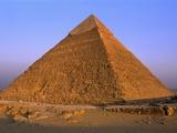 Pyramid of Khafre Fotografie-Druck von S. Vannini