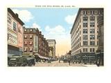 Downtown St. Louis, Missouri Poster