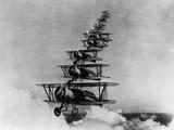 Airplanes in Flight Fotografie-Druck von  Bettmann