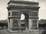 View of L'Arc De Triomphe in Paris Fotografisk trykk av  Bettmann