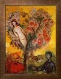 La Branche Poster by Marc Chagall