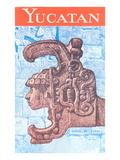 Yucatan Travel Poster Prints