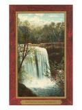 Minnehaha Falls, Minneapolis, Minnesota Kunstdrucke