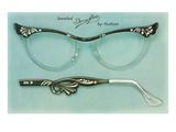Fancy Eyeglass Frames Pôsteres