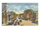 Congress Street, Portsmouth, New Hampshire Kunstdrucke
