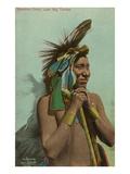 Blackfoot Chief, Luke Big Turnips Prints