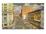 Monroe Avenue, Grand Rapids, Michigan Kunstdrucke