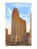 Union Guardian Building, Detroit, Michigan Kunstdruck