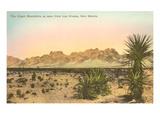 Organ Mountains, Las Cruces, New Mexico Kunstdrucke