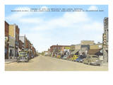 Downtown Red Lodge, Montana Kunstdrucke