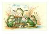Frog Ensemble Pôsters