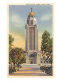 State Capitol Tower, Lincoln, Nebraska Prints