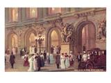 Teatro dell'Opera di Parigi, Francia Poster