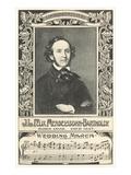 Felix Mendelssohn and Wedding March Posters
