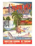 Poster for Veracruz, Mexico Plakater