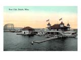 Boat Club, Duluth, Minnesota Kunstdrucke