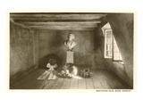 Bust of Beethoven in Attic in Bonn, Germany Prints