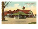 Pavilion, Lake Massabesic, Manchester, New Hampshire Prints