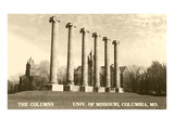 The Columns, University of Missouri Print