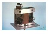 Double Coffee-Maker, Retro Julisteet
