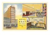 Hôtel Bray, Kansas City, Missouri Poster