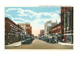 Locust Street, Grand Island, Nebraska Kunstdrucke