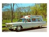Cadillac Ambulance, Retro Affiches