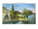 Lake of the Isles, Minneapolis,  Minnesota Kunstdrucke