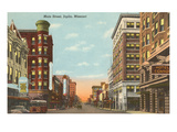 Main Street, Joplin, Missouri Kunstdrucke