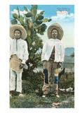 Indígenas en México Central Láminas