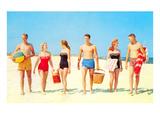 Beach Picnic, Retro Posters