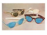 Retro Sunglasses Pôsteres