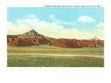 Rocks Near Gallup, New Mexico Kunstdrucke