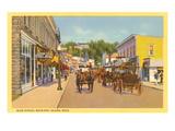Main Street, Mackinac Island, Michigan Kunstdrucke