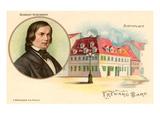Robert Schumann and Birthplace Prints