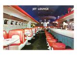Jet Lounge, Retro Lámina